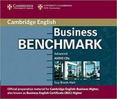 Business Benchmark Advanced BEC Higher Ed. Audio CDs (3) - фото обкладинки книги