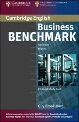 Business Benchmark Advanced BULATS & BEC Personal Study Book - фото книги