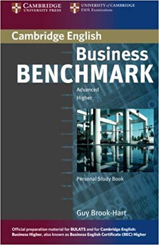 Посібник Business Benchmark Advanced BULATS  BEC Personal Study Book