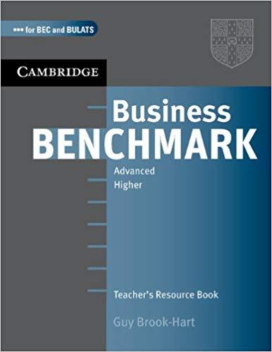 Книга для вчителя Business Benchmark Advanced BULATS  BEC TRB