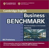 Business Benchmark Pre-int/Inter BEC Preliminary Ed. Audio CDs (2) - фото обкладинки книги