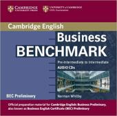 Business Benchmark Pre-int/Inter BEC Preliminary Ed. Audio CDs (2) - фото обкладинки книги