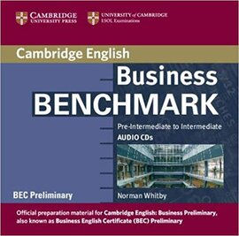 Business Benchmark Pre-int/Inter BEC Preliminary Ed. Audio CDs (2) - фото книги