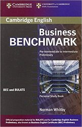 Business Benchmark Pre-int/Inter Personal Study Book - фото обкладинки книги