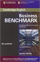 Аудіодиск Business Benchmark Pre-int/Inter Personal Study Book