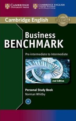 Business Benchmark Pre-intermediate to Intermediate BULATS and Business Preliminary Personal Study Book - фото книги