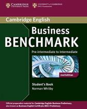 Business Benchmark Pre-intermediate to Intermediate Student's Book (підручник) - фото обкладинки книги