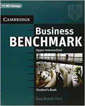 Business Benchmark Upper-inter BEC Vantage Ed.SB - фото обкладинки книги