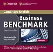 Business Benchmark Upper Intermediate Business Vantage Class Audio CDs (2) - фото обкладинки книги