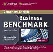 Business Benchmark Upper Intermediate Business Vantage Class Audio CDs (2) - фото книги