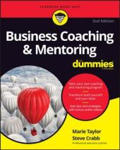Business Coaching & Mentoring For Dummies - фото обкладинки книги