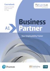 Business Partner A1 Student Book with MyEnglishLab - фото обкладинки книги