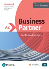 Business Partner A2 Coursebook with Digital Resources - фото обкладинки книги