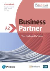Business Partner A2 Coursebook with MyEnglishLab - фото обкладинки книги