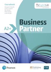 Business Partner A2+ Coursebook with MyEnglishLab - фото обкладинки книги