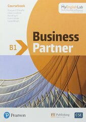 Business Partner B1. Coursebook + MyEnglishLab Pack - фото обкладинки книги