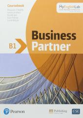 Business Partner B1. Coursebook + MyEnglishLab Pack - фото обкладинки книги