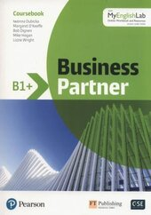 Business Partner B1+. Coursebook + MyEnglishLab Pack - фото обкладинки книги