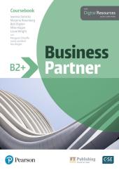Business Partner B2+ Coursebook with Digital Resources - фото обкладинки книги