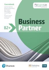Business Partner B2+ Coursebook with MyEnglishLab - фото обкладинки книги
