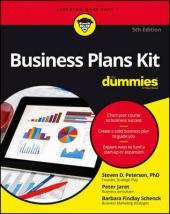 Книга Business Plans Kit For Dummies