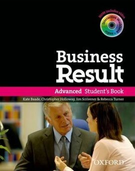 Business Result Advanced: Student's Book with DVD (підручник + диск) - фото книги