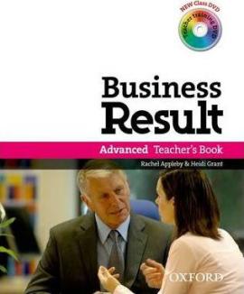 Business Result Advanced: Teacher's Book with DVD (книга вчителя + диск) - фото книги