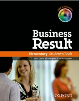 Business Result Elementary: Student's Book with DVD (підручник + диск) - фото книги