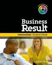 Business Result Intermediate: Student's Book with DVD (підручник + диск) - фото обкладинки книги