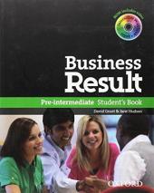 Business Result Pre-Intermediate: Student's Book with DVD (підручник + диск) - фото обкладинки книги