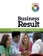 Business Result Pre-Intermediate: Teacher's Book with DVD (книга вчителя + диск) - фото обкладинки книги