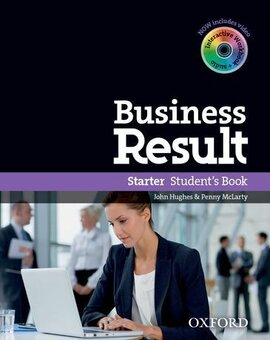 Business Result Starter: Student's Book with DVD (підручник + диск) - фото книги