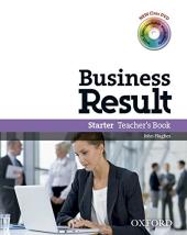 Business Result Starter: Teacher's Book with DVD (книга вчителя + диск) - фото обкладинки книги