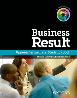 Business Result Upper-Intermediate: Student's Book with DVD (підручник + диск) - фото книги