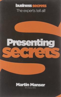 Business Secrets: Presenting Secrets - фото книги