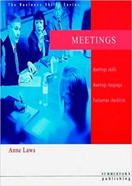 Business Skills Series: Meetings - фото книги