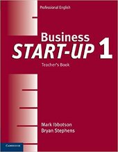 Business Start-up Level 1Teacher's Book (підручник) - фото обкладинки книги