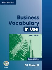 Business Vocabulary in Use 2nd Edition Advanced with Answers and CD-ROM (словник) - фото обкладинки книги