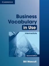 Business Vocabulary in Use 2nd Edition Intermediate with Answers (словник) - фото обкладинки книги