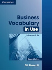 Business Vocabulary in Use 2nd Edition Intermediate with Answers (словник) - фото обкладинки книги