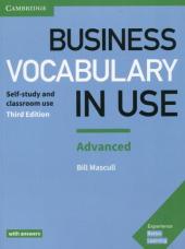 Business Vocabulary in Use: Advanced Book with Answers - фото обкладинки книги