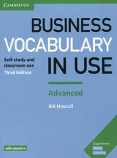 Business Vocabulary in Use: Advanced Book with Answers - фото обкладинки книги