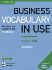 Business Vocabulary in Use: Advanced Book with Answers and Enhanced ebook: Self-study and Classroom Use - фото обкладинки книги