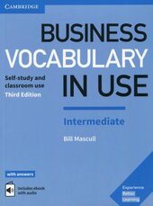Business Vocabulary in Use: Intermediate Book with Answers and Enhanced ebook: Self-Study and Classroom Use - фото обкладинки книги
