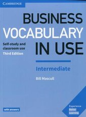 Business Vocabulary in Use: Intermediate Book with Answers: Self-Study and Classroom Use - фото обкладинки книги