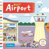 Busy Airport - фото обкладинки книги
