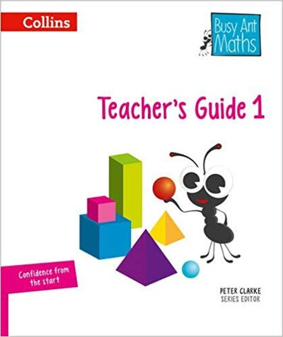 Книга для вчителя Busy Ant Maths European edition  Year 1 Teacher Guide Euro pack