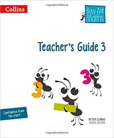 Книга для вчителя Busy Ant Maths European edition  Year 3 Teacher Guide Euro pack