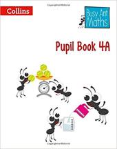Busy Ant Maths Pupil Book 4A - фото обкладинки книги