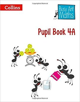 Busy Ant Maths Pupil Book 4A - фото книги